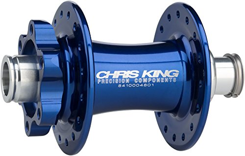Chris King ISO 15 x 110mm Boost SD Front Disc Hub, 32 Hole Navy