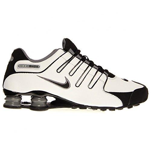 bc4311eb628 Nike Shox NZ Mens Running Shoes 378341-101 White 9 M US - Buy Online ...