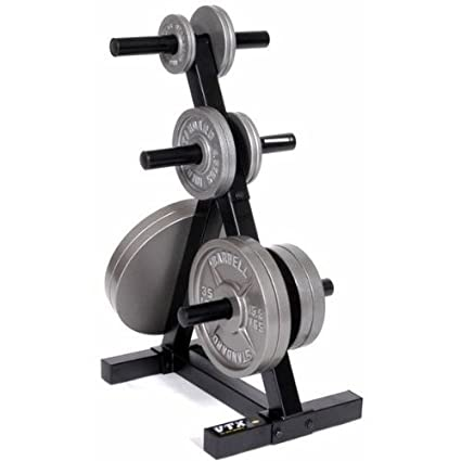 VTX by Troy Barbell T-OPT Heavy Duty Olympic Plate Rack One Size  sc 1 st  Amazon.com & Amazon.com : VTX by Troy Barbell T-OPT Heavy Duty Olympic Plate Rack ...