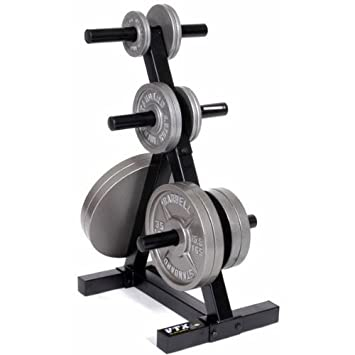 Amazon.com  VTX by Troy Barbell T-OPT Heavy Duty Olympic Plate Rack One Size  Exercise Equipment  Sports u0026 Outdoors  sc 1 st  Amazon.com & Amazon.com : VTX by Troy Barbell T-OPT Heavy Duty Olympic Plate Rack ...