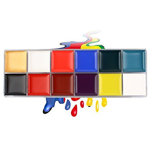 Face Painting Kit Fans Body Paint Kit IS'MINE