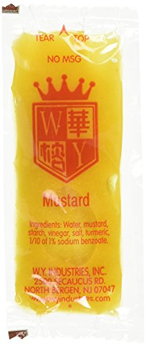 W.Y. INDUSTRIES 200 Packets Chinese Yellow Mustard -