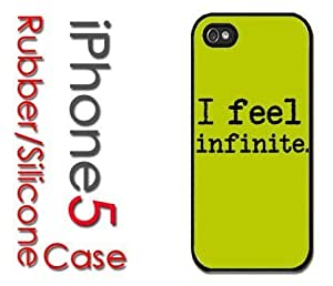 iPhone 5C (New Color Model) Rubber Silicone Case - I Feel Infinite - Perks of a Wallflower