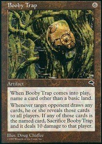 Magic: the Gathering - Booby Trap - - Trap Booby