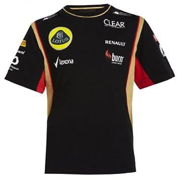 F1 Kids Patrocinadores Camiseta Team Infantil Lotus QCdBthsrx