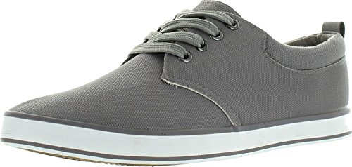 Arider Cross-02 Mens Fashion Classic Low Top Lace Up Sneaker Comfort Casual Shoe,Grey,8.5