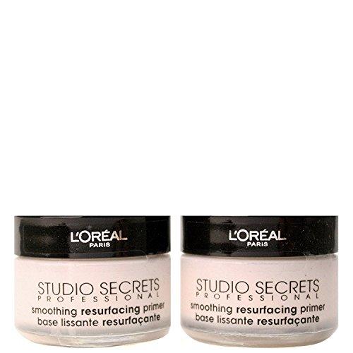 L'Oreal Studio Secrets Resurfacing Primer 15 ml - Pack of 2 Women 15ml Edp Spray