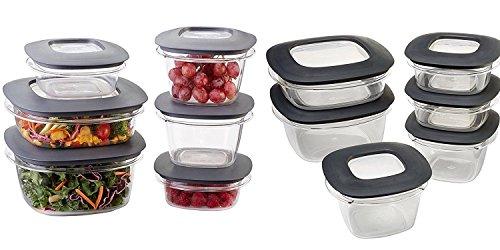 Rubbermaid Premier 22-piece Food Saver Storage Container Set
