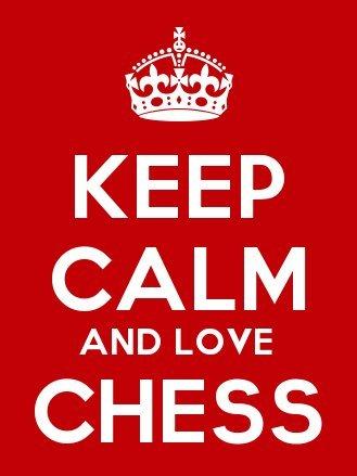 Keep Calm And Love llavero - ajedrez y accesorios para 5 cm ...