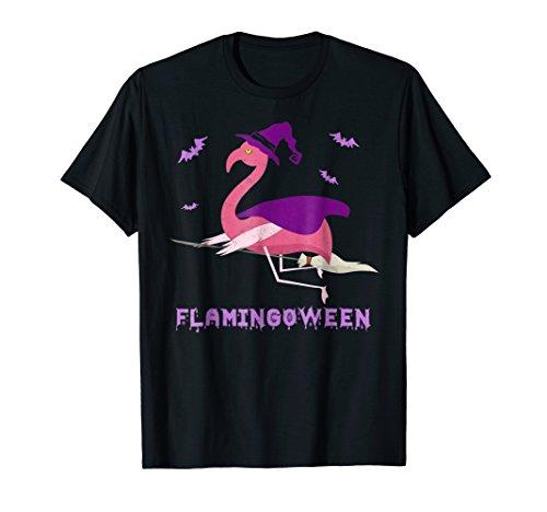 Flamingoween Funny Flamingo Halloween T-Shirt -