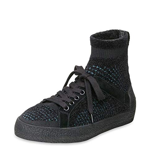 blue Ash Tweed 40 Negro Trainer Footwear Black Ninja Knit AnqxI7HzR