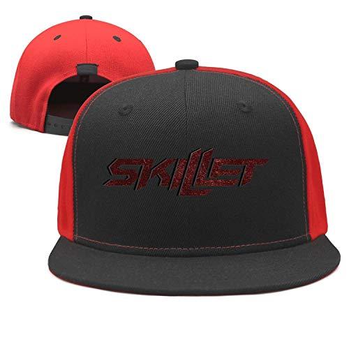 Street Dancing Punk Hip-hop Cap Rock Band Skillet Winter Pattern Black Snapback - Band Hat Skillet