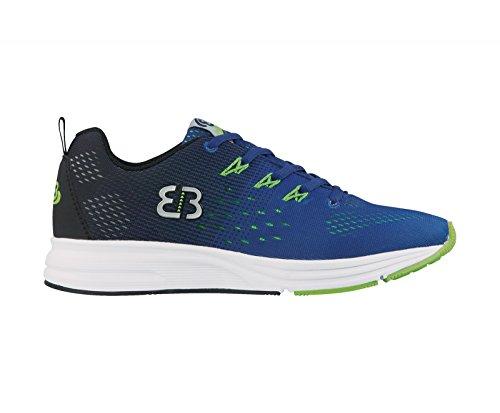 Bruetting Herren Escape Sneaker Blau (Blau/Schwarz/Lemon)