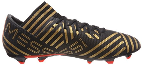 Adidas Mannen Nemeziz Messi 17,3 Fg Voetbalschoenen Zwart (kern Zwart / Zonne-rood / Goud Metallic Tactiele)
