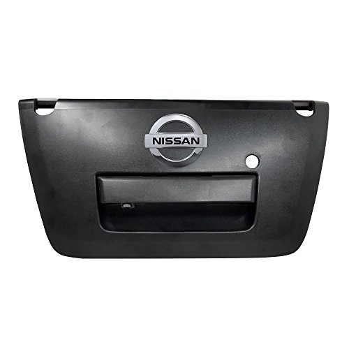 Master Tailgaters Black Tailgate Handle with Backup Camera Replacement for Nissan Frontier 2013-2016
