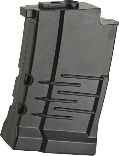 Evike 40 Round Mid-Cap Polymer Magazine for VSS Airsoft AEG Sniper Rifles by King Arms