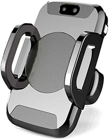 YIKETING 車の充電器赤外線自動センサーワイヤレススマートセンサーカーワイヤレス充電器C2携帯電話ブラケット電話マウント (色 : 黒)