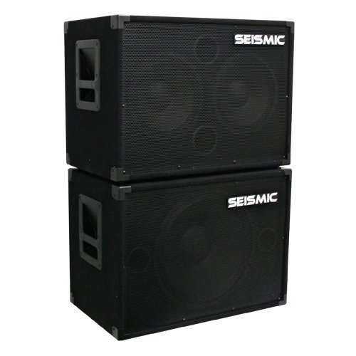 Seismic Audio - 1x15 & 2x10 BASS GUITAR SPEAKER CABINET COMBO PRO AUDIO