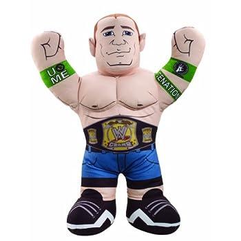 Image of Action Figures & Toy Figurines WWE Championship Brawlin Buddies John Cena Figure