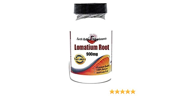 Amazon.com: Lomatium Root 900mg * 180 Capsules 100% Natural - by EarhNaturalSupplements: Health & Personal Care
