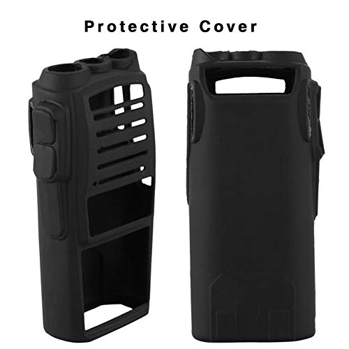 Two Way Silicone - BDSONG Protective Soft Case Silicone Handheld Cover Holster for Baofeng UV82 Radio Walkie Talkie