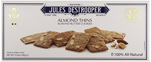 Jules Destrooper Thins, Almond, 3.5 oz