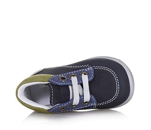 Balocchi Mehrfarbiger Schuh mit Schnürsenkeln Aus Nabukleder, Aus Hochwertigen Natürlichen Materialien, Jungen