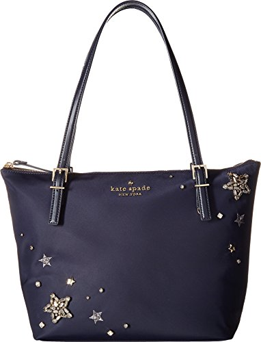 Kate Spade New York Women's Watson Lane Small Maya Tote, Rich Navy, One Size