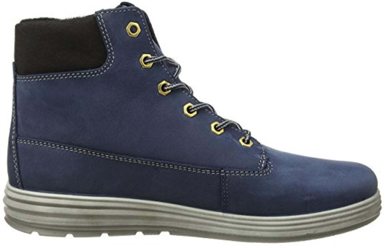 Ricosta Boys' Beyo Ankle Boots, Blue (Reef 152), 1 UK 33 EU