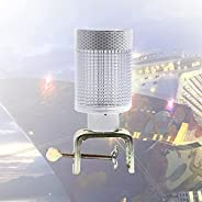 Bow Navigation Lights, Boats Navigation Light Solar Powered, Led Signal Lamp with Detachable Iron Frame, Ip54