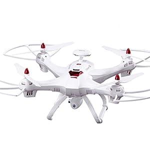 Boyiya Global Drone X183 5.8GHz 6-Axis Gyro WiFi FPV 1080P Camera Dual-GPS Follow Me Brushless Quadcopter by Boyiya
