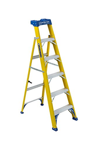 Louisville Ladder FXS2006 Cross Step Ladder, 250-Load Capaci