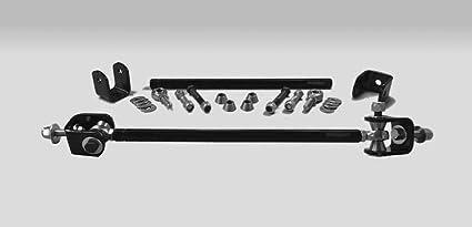 Steinjäger Clevises - Enganche para barra de escalera (M12 x 1,75, 463 mm de largo, tubos de acero con recubrimiento de polvo PTFE): Amazon.es: Coche y moto