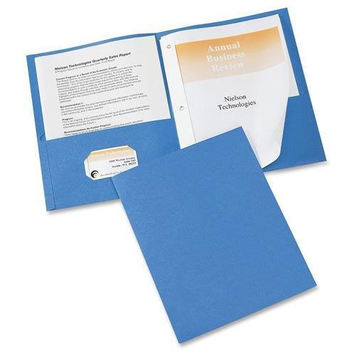 47976 Avery Two Pocket Folder with Fastener - Letter - 8....