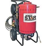 NorthStar Electric Wet Steam & Hot Water Pressure Washer - 2700 PSI, 2.5 GPM, 230 Volt