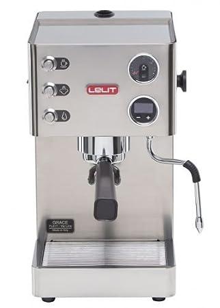 Lelit Grace Independiente Máquina espresso 2.5L 1tazas Acero inoxidable - Cafetera (Independiente, Máquina