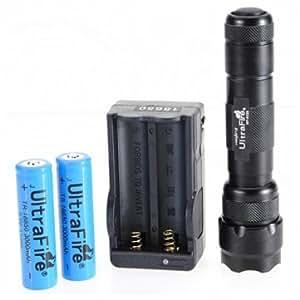 Ultrafire WF-502B CREE XM-L T6 1000 lumens LED Flashlight