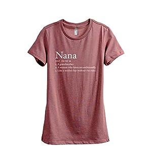 Nana Definition Women's Fashion Relaxed T-Shirt Tee