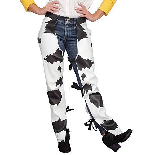 Cowboy Cowgirl Jessie Chaps Adult Halloween Costume