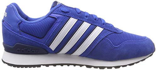 Fitnessschuhe Dark Ftwr Blue Herren Blau adidas White Blue 10k EBqxwA