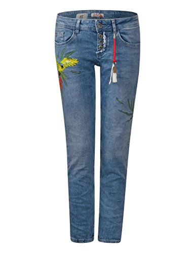Slim Blue 11402 Street natural Bright Wash One Multicolore Jeans Donna SpREw