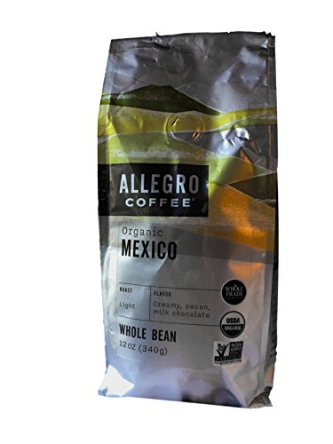 - Allegro Whole Bean Coffee, 2-12oz Bags (Organic Mexico)