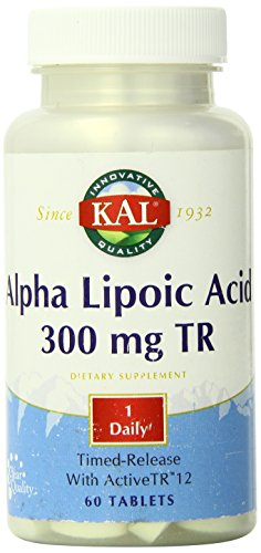 UPC 021245515449, KAL Alpha Lipoic Acid Time Release Capsules, 300 mg, 60 Count