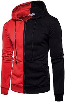 Men/'s Hoodies Pocket Sweatshirt Tops Jumper Pullover Casual Sports Coat Jacket