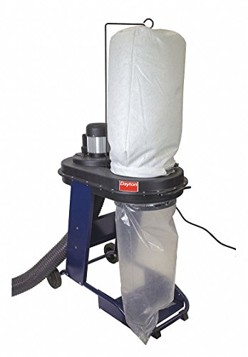 - Dust Collector, 4.5 Amps AC, 26-1/2' H