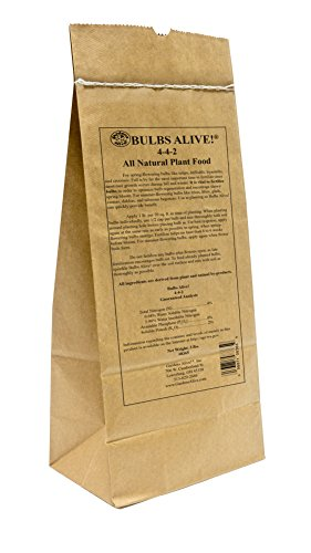 - Bulbs Alive! Fertilizer - for Healthy and Showy Blooms! This All-Natural Formula Feeds Flower Bulbs of All Types to Ensure a Healthy Winter Regeneration and Vibrant Blooms. 3 lb Bag.