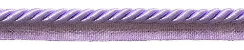 3/8 Lip Trim Twisted Cord (DecoPro Large Lt. Purple 3/8