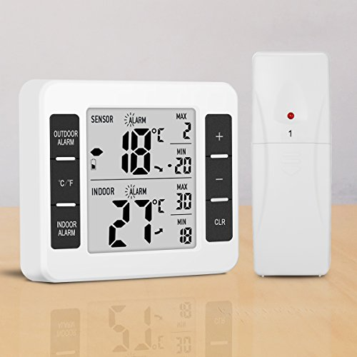 fridge temperature gauge wireless - 1
