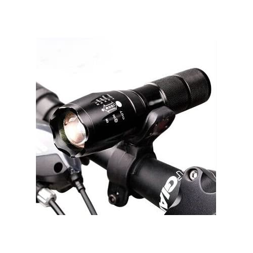 Kubert® A100 900 Lumens CREE XML T6 LED Portable Zoomable Tactical