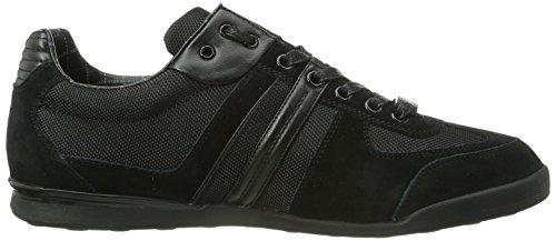 Boss Groen Herren Lage Sneakers Akeen 10167168 01 Zwart (black 001)